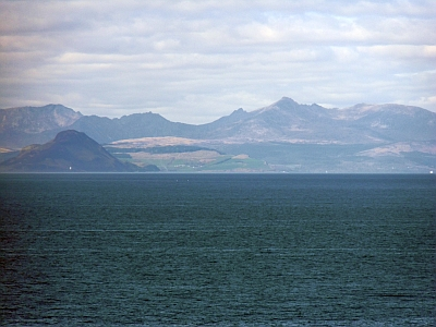 Isle of Arran from Culzean