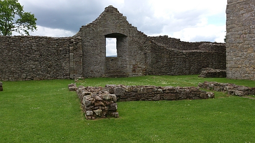 Remains of Great Hall